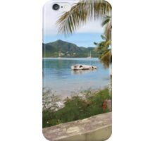 Yacht Wreck In Antigua iPhone Case/Skin