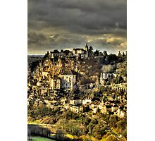 Rocamadour, Lot, SW France Photographic Print