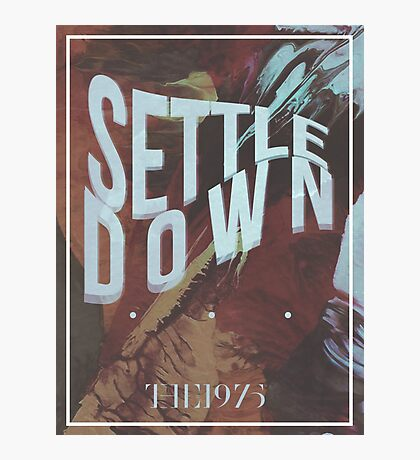 settle down Photographic Print