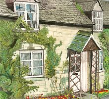 Cottage Vineyard Street, Winchcombe by doatley