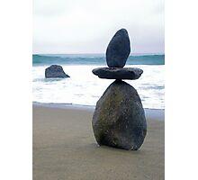 3 Stone Stack Photographic Print