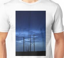 electrical blues Unisex T-Shirt