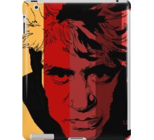 Pedro Almodovar with stripy background! iPad Case/Skin