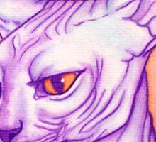 Sphynx cat #02 Sticker