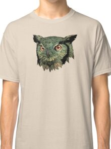 Owl - Red Eyes Classic T-Shirt