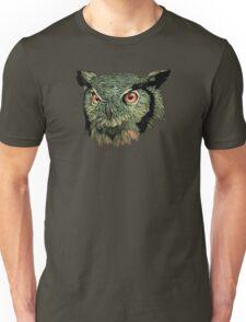 Owl - Red Eyes Unisex T-Shirt
