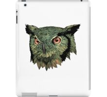 Owl - Red Eyes iPad Case/Skin