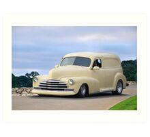1947 Chevrolet Sedan Delivery 'Panel Truck' Art Print