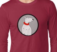 ENGLISH BULL TERRIER CUTE PORTRAIT Long Sleeve T-Shirt