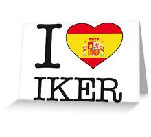 I ♥ IKER Greeting Card