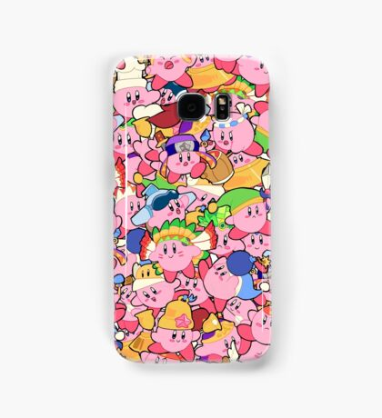 Kirby Patterns  Samsung Galaxy Case/Skin