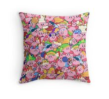 Kirby Patterns  Throw Pillow