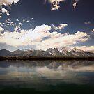 Rocky Mountain Mirror by Dominic Kamp