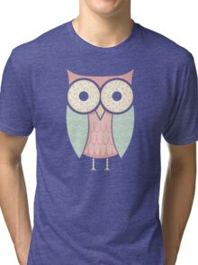 Owl Have Two Doughnuts Tri-blend T-Shirt