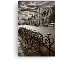 Oxford-Bikes Canvas Print