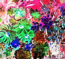 Neon Garden #1 by rokinronda