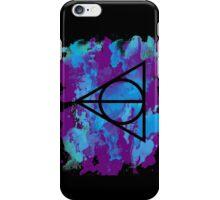 Splatter Hallows 2  iPhone Case/Skin