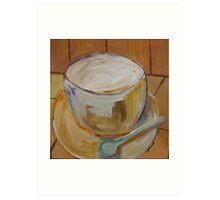 coffee 2 Art Print