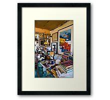 Vynalhaven Office Framed Print