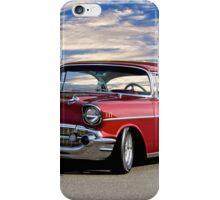 1957 Chevrolet Bel Air Hardtop iPhone Case/Skin