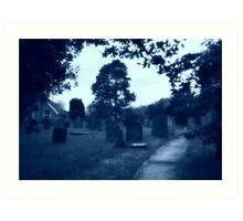 Moonlit Silence - Seaton Ross Art Print