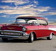 1957 Chevrolet Bel Air Hardtop by DaveKoontz