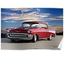 1957 Chevrolet Bel Air Hardtop Poster
