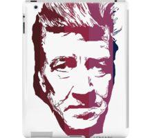 David Lynch in stripes iPad Case/Skin