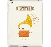 Grammarphone iPad Case/Skin