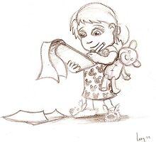 The Little Artist by Leoman