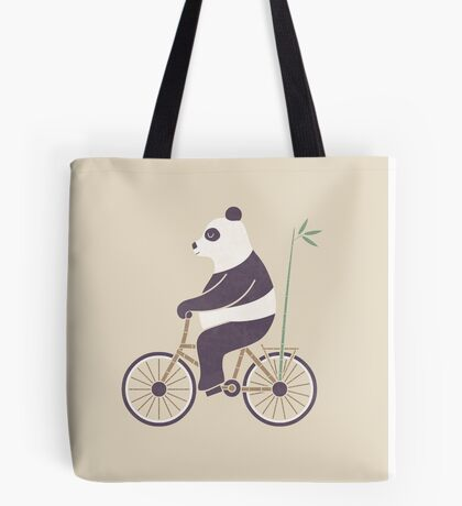 My Bamboo Bicycle Tote Bag