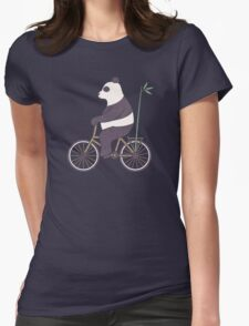 My Bamboo Bicycle Womens Fitted T-Shirt