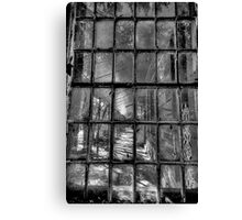 Fractured (Monochrome) - Gladesville Asylum - The HDR Experience Canvas Print