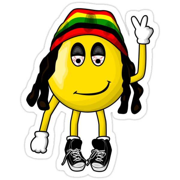 Rasta Smiley by Octavio Velazquez
