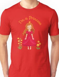 Little girl Princess Unisex T-Shirt