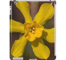 Bright Yellow Daffodil Flower iPad Case/Skin