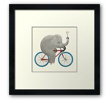 Ride colour option Framed Print
