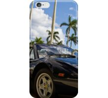 Bright Sports Car on a Sunny Day in Miami iPhone Case/Skin
