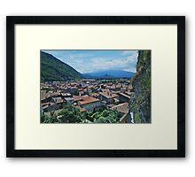 Foix Framed Print