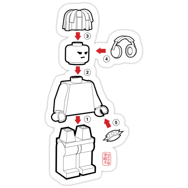 Lego DJ by 73553
