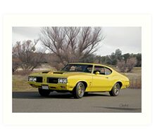 1970 Oldsmobile 'Rallye 350' Cutlass Art Print