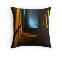 You Go First! Throw Pillow