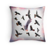 Forest Red Tails Throw Pillow