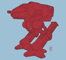 Red Robo T-Shirt