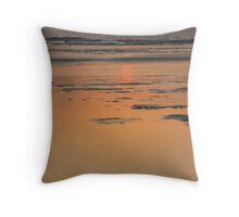SEA SUNSET Throw Pillow