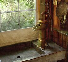 Kitchen - Water Pump by Mike  Savad