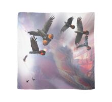 Red Tails In Flight Scarf
