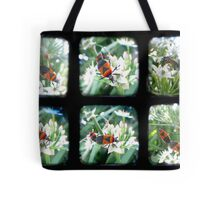 Happy Bugs Polyptych - TTV Tote Bag