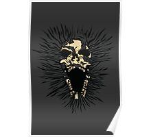 Skull Out Poster