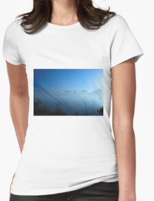 Monument Lake  Womens Fitted T-Shirt